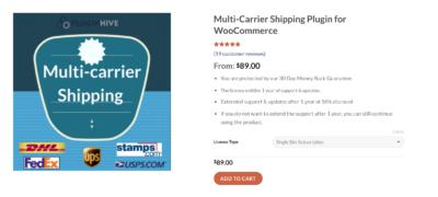 multi-carrier shipping plugin