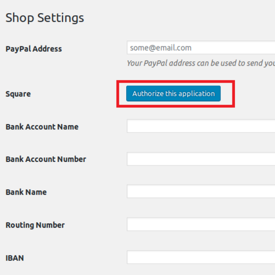Square Payment Gateway for WCVendors