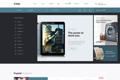 WooCommerce Multi Vendor Marketplace & Electronics Store WordPress Theme